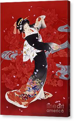 Entertainment Canvas Print - Hien by Haruyo Morita