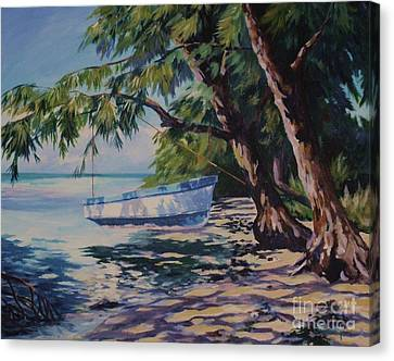High And Dry Canvas Print by John Clark