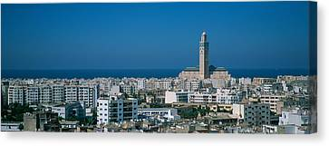 High Angle View Of A City, Casablanca Canvas Print