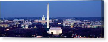 Lincoln Memorial Canvas Print - High Angle View Of A City, Washington by Panoramic Images