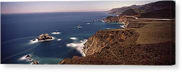 Big Sur California Canvas Print - High Angle View Of A Coastline, Big by Panoramic Images