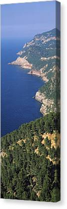 Roca Canvas Print - High Angle View Of A Coastline, Mirador by Panoramic Images