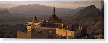 High Angle View Of A Palace, Ishak Canvas Print