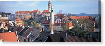 High Angle View Of A Town, Cesky Canvas Print by Panoramic Images