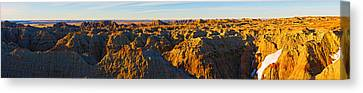 High Angle View Of White River Overlook Canvas Print by Panoramic Images