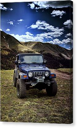 High Country Adventure Canvas Print