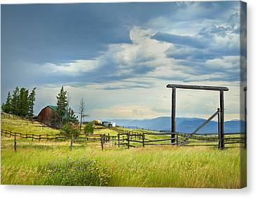 High Country Farm Canvas Print
