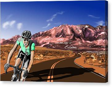High Desert Solitaire Canvas Print
