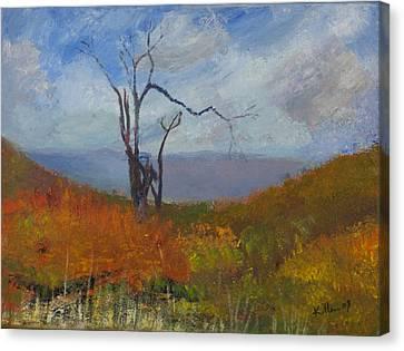 High Fall Canvas Print by William Killen