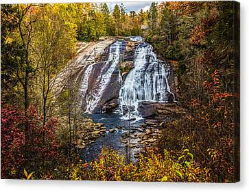 High Falls Canvas Print by John Haldane