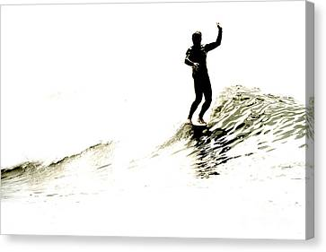 Canvas Print featuring the photograph High Five by Paul Topp