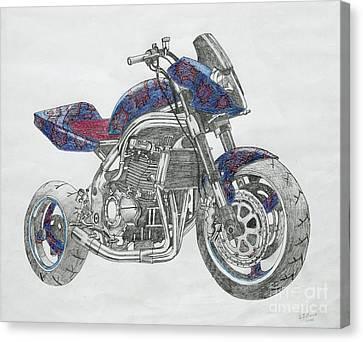 Disc Canvas Print - High Flier by Stephen Brooks
