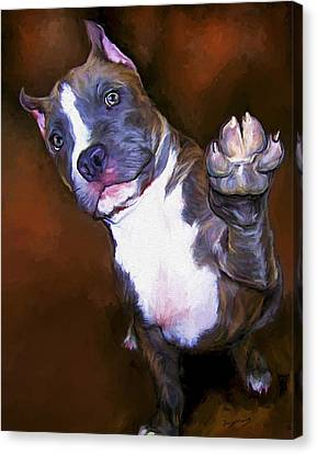 High Four Canvas Print