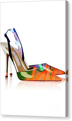 High Heel Shoes Canvas Print by Marvin Blaine