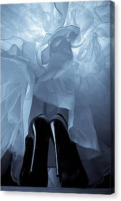High Heels And Petticoats Canvas Print by Scott Sawyer