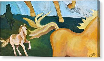 High Horse Canvas Print