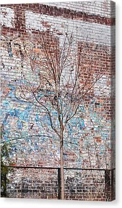 High Line Palimpsest Canvas Print
