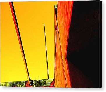 High Noon Canvas Print by Wendy J St Christopher