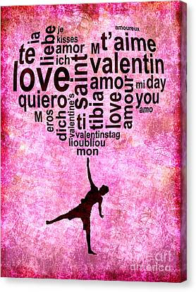 Be My Valentine Canvas Print - High On Love by Delphimages Photo Creations