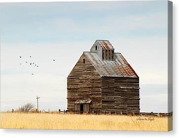 High Plains Autumn Canvas Print