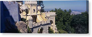 High Section View Of A Building, Pena Canvas Print by Panoramic Images