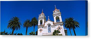 High Section View Of A Cathedral Canvas Print by Panoramic Images