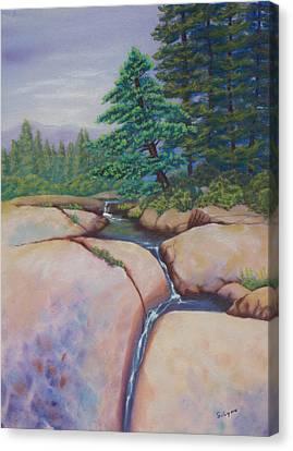 High Sierras Canvas Print