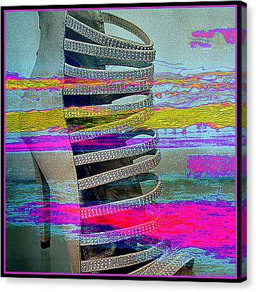 High Stepping Canvas Print by Irma BACKELANT GALLERIES