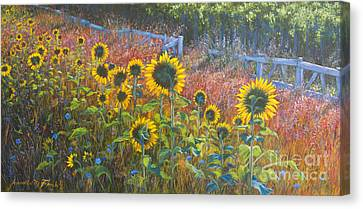 High Summer Canvas Print by Jeanette French