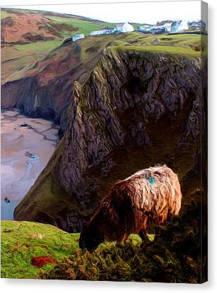 High Table Canvas Print by Ron Harpham