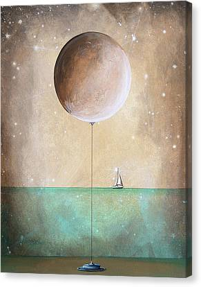 High Tide Canvas Print by Cindy Thornton