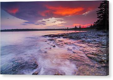 High Tide Canvas Print by Mircea Costina Photography