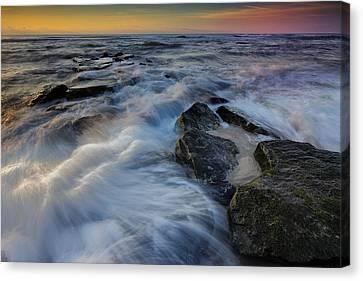 High Tide Canvas Print by Rick Berk