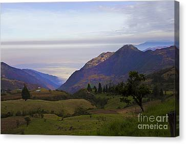 High Up In The Andes Canvas Print