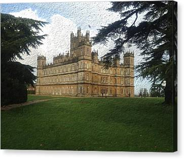 Highclere Castle Downton Abbey 2 Canvas Print by John Colley