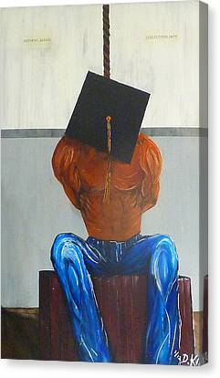 Higher Education Canvas Print by Douglas Keen