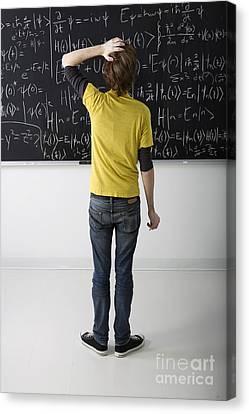 Higher Math Canvas Print by Diane Diederich