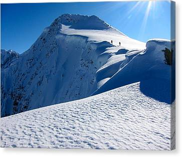 Highest Cornice Canvas Print
