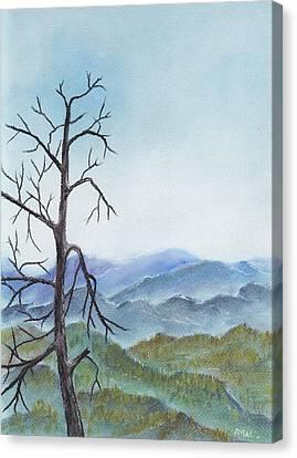 View Canvas Print - Highland by Anastasiya Malakhova