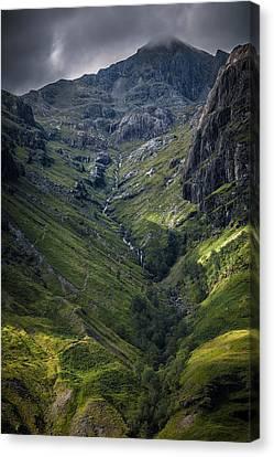 Highland Crevasse Canvas Print