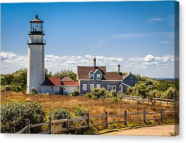 Highland Light Canvas Print by Brian Caldwell