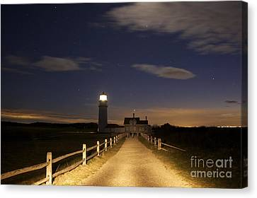 Highland Light North Truro Canvas Print by Amazing Jules