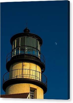 Highland Lighthouse Canvas Print by Jeff Folger