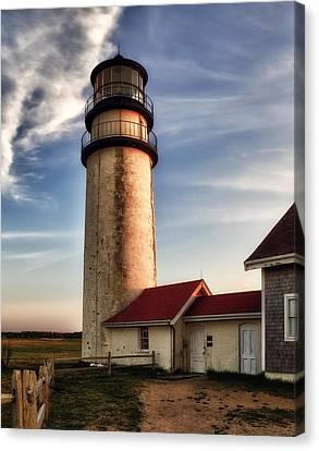 Highland Lighthouse Canvas Print by Mark Papke