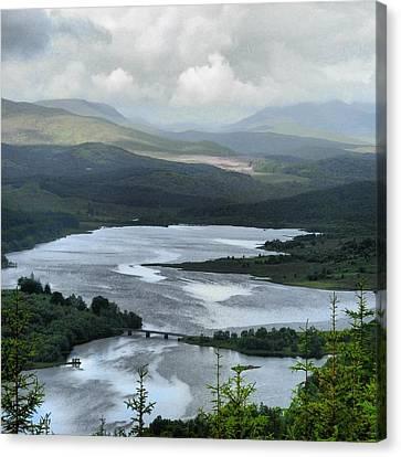 Highland Loch At Lochaber Canvas Print