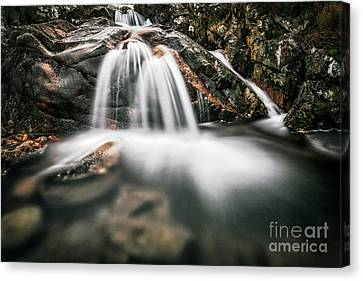 Highland Waterfall Canvas Print by John Farnan