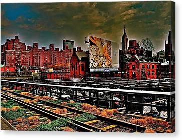 Highline Nyc Canvas Print