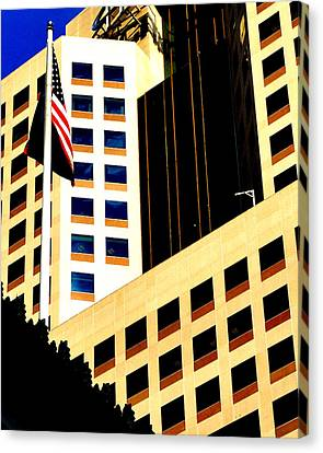 Canvas Print featuring the photograph Highmark by Mary Beth Landis