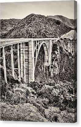 Highway 1 Canvas Print by Heather Applegate