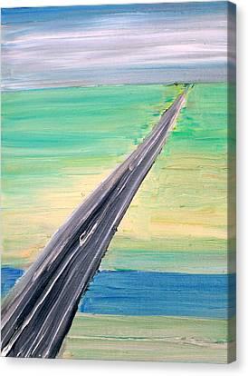 Highway Canvas Print by Fabrizio Cassetta
